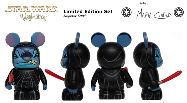 Vinylmation Open And Misc Star Wars Disney Set 1 Emperor Stitch