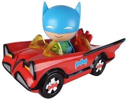 Dorbz Dorbz Ridez Batman (w/ Red Batmobile) Icon