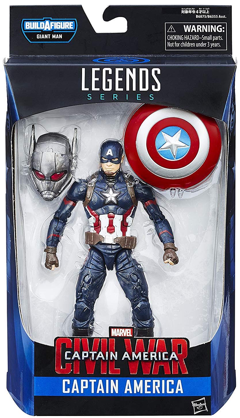 Marvel Legends Giant Man Series Captain America