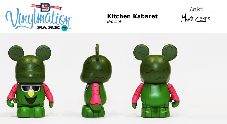Vinylmation Open And Misc Park 7 Broccoli