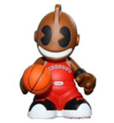 Kid Robot Blind Boxes Bots KidBaller (Red)