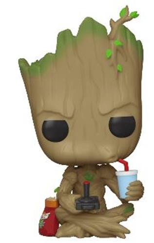 Funko Pop! Marvel Groot (Gamer)