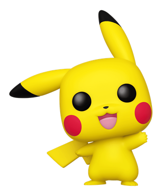 Funko Pop! Games Pikachu (Waving)