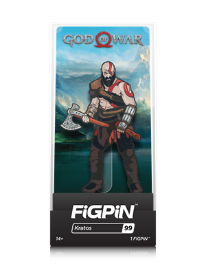 FiGPin God of War Kratos Stock