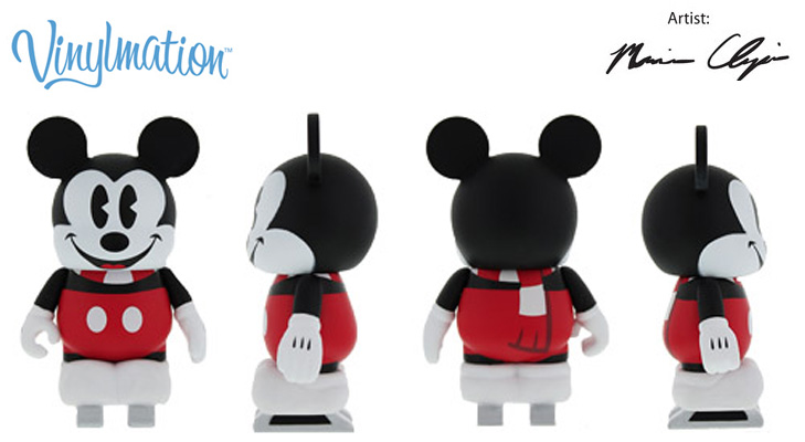 Vinylmation Open And Misc Ice Skating Mickey Mouse