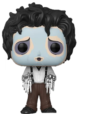 Funko Pop! Movies Edward in Face Mask Icon