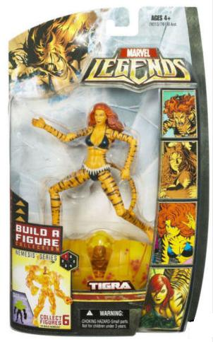 Marvel Legends Nemesis Series Tigra
