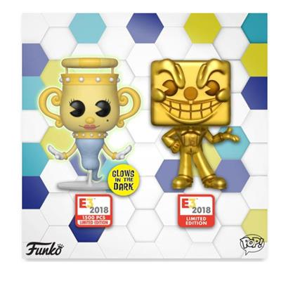 Funko Pop! Games King Dice (Gold)