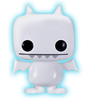 Funko Pop! Uglydoll Ice-Bat (White) - Glow Chase