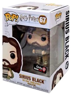 Funko Pop! Harry Potter Sirius Black (Prisoner) Stock