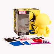 Kid Robot Blind Boxes DIY Marvel Micro Series 2 Wolverine