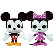 Funko Pop! Minis Mickey Mouse & Minnie Mouse