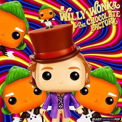Funko Pop! Movies Willy Wonka justonemorepop on instagram.com