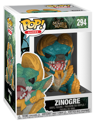 Funko Pop! Games Zinogre Stock