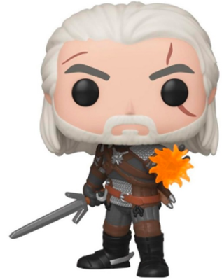 Funko Pop! Games Geralt (Igni) (Glows in the Dark)