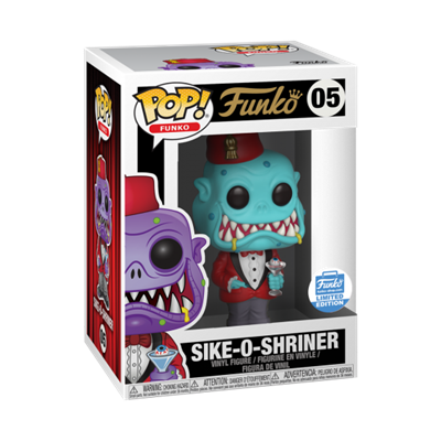 Funko Pop! Funko Sike-O-Shriner (Teal) Stock