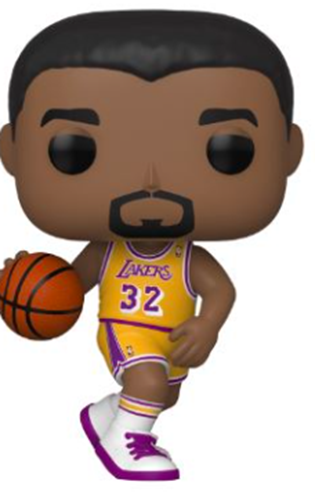 Funko Pop! Sports Magic Johnson (Lakers Home Jersey)