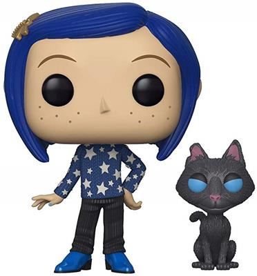 Funko Pop! Animation Coraline (w/ Cat)