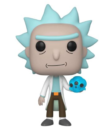 Funko Pop! Animation Rick with Crystal Skull