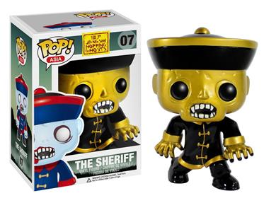 Funko Pop! Asia The Sheriff (Gold) Stock