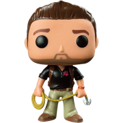 Funko Pop! Games Nathan Drake (Naughty Dog Logo)