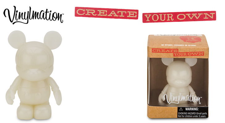 Vinylmation Open And Misc Create Your Own Glow in the Dark