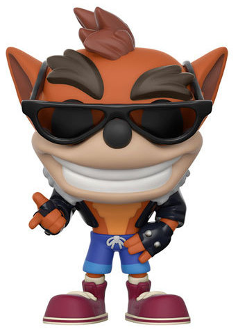 Funko Pop! Games Crash Bandicoot (Biker Outfit)