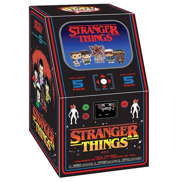 Arcade 5-pack - Stranger Things