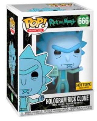 Funko Pop! Animation Hologram Rick Clone (Protester) Stock Thumb
