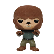 Funko Pop! Movies The Wolf Man (Flocked)