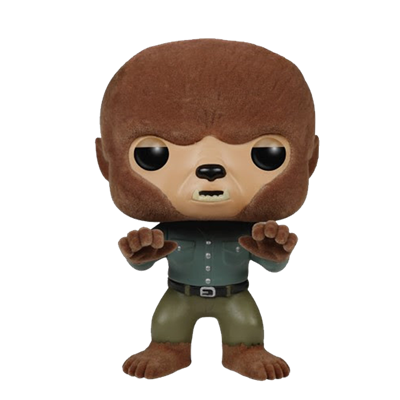 Funko Pop! Movies The Wolf Man (Flocked) Icon