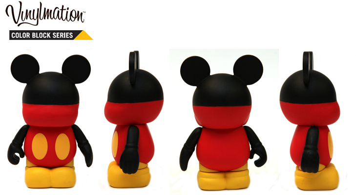 Vinylmation Open And Misc Color Block Mickey