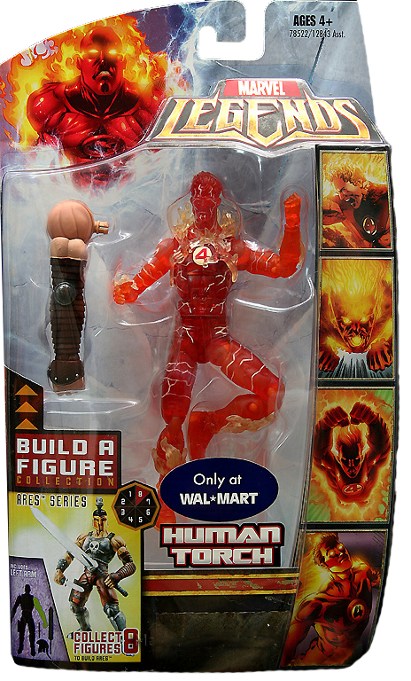 Marvel Legends Ares Series Human Torch (Variant)