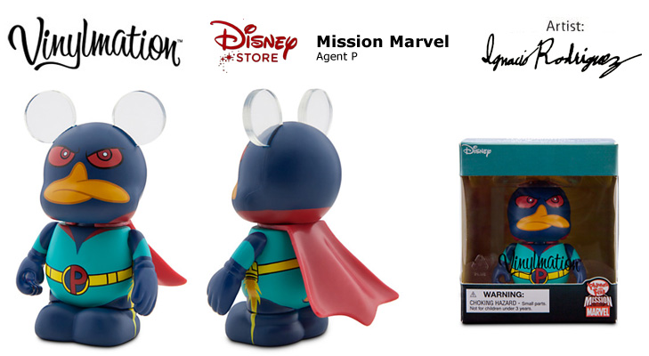 Vinylmation Open And Misc Exclusives Mission Marvel Agent P