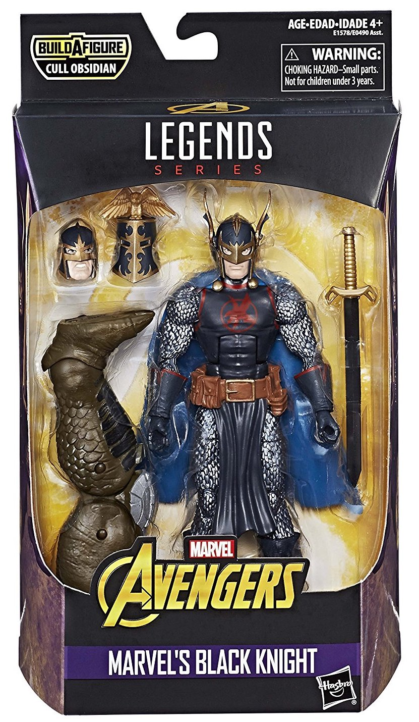 Marvel Legends Cull Obsidian Series Black Knight
