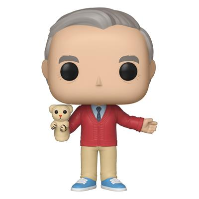 Funko Pop! Movies Mister Rogers with Daniel Tiger Icon
