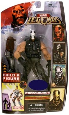 Marvel Legends Ares Series Crossbones