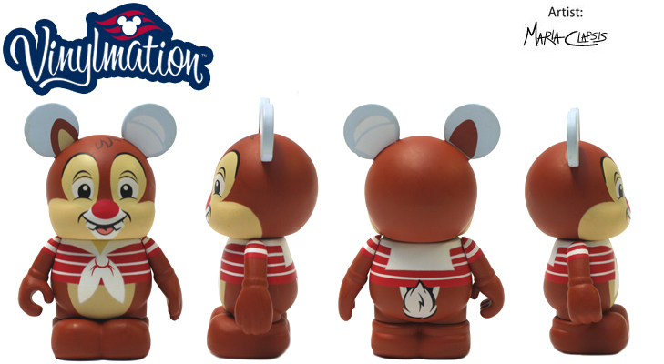 Vinylmation Open And Misc Disney Cruise Line Dale