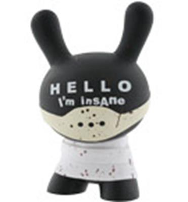 "Kid Robot 8"" Dunnys Hello, I'm insane"