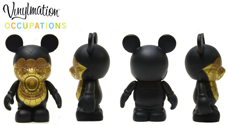 Vinylmation Open And Misc Occupations Police