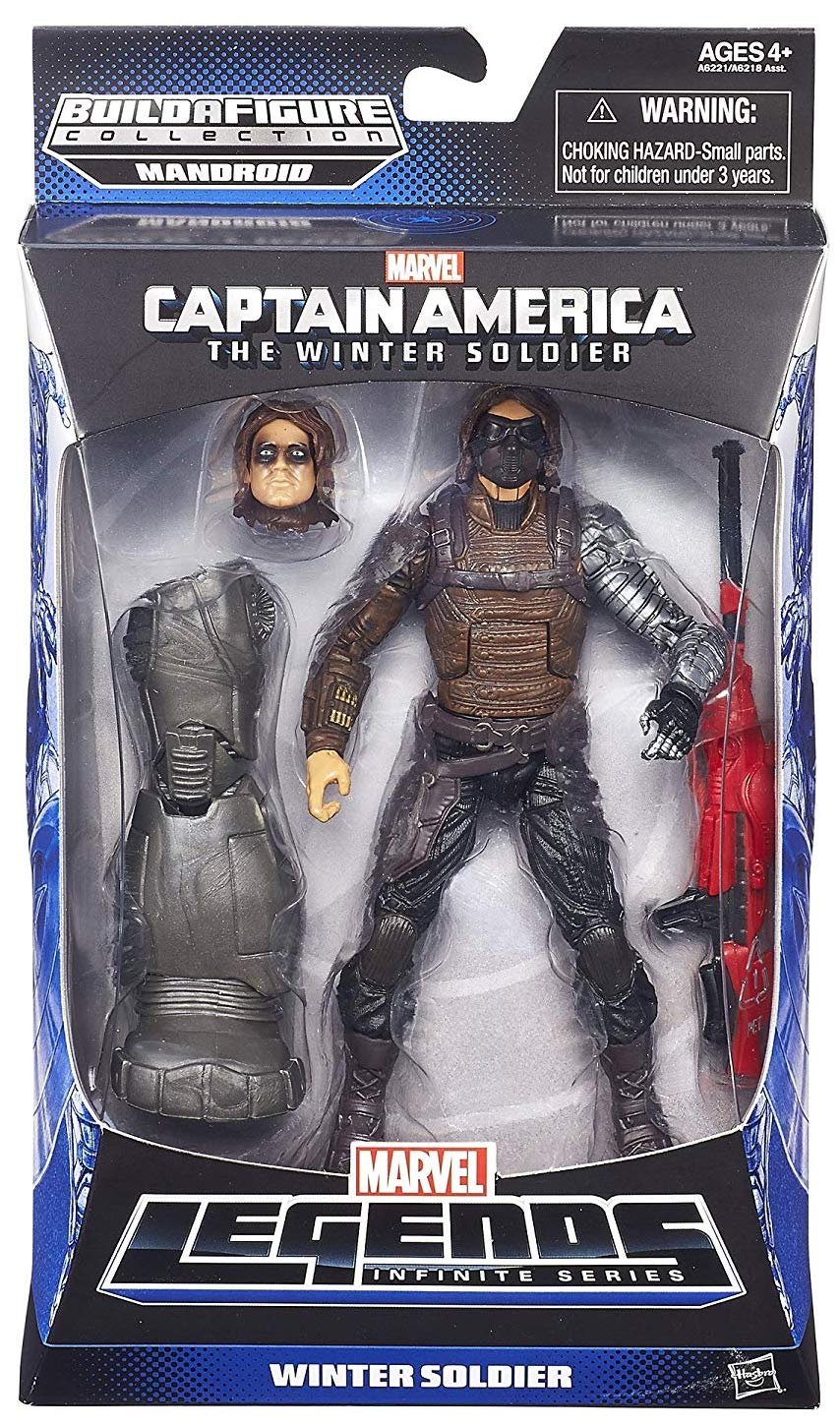 Marvel Legends Mandroid Series Winter Soldier Icon