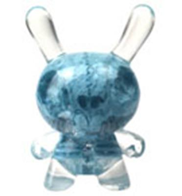 Kid Robot Special Edition Dunny Cryogenic Blue Infected Stock