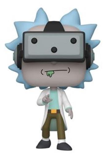Funko Pop! Animation Gamer Rick Icon