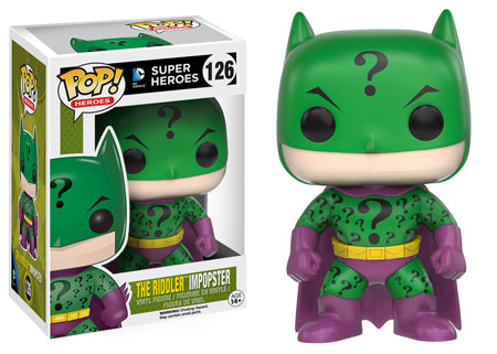 Funko Pop! Heroes The Riddler (Impopster) Stock