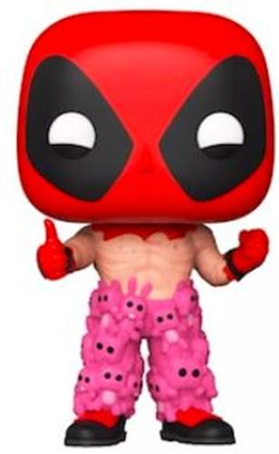 Funko Pop! Marvel Deadpool with Teddy Pants Icon