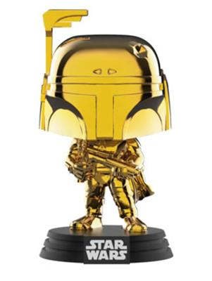 Funko Pop! Star Wars Boba Fett (Gold Chrome)