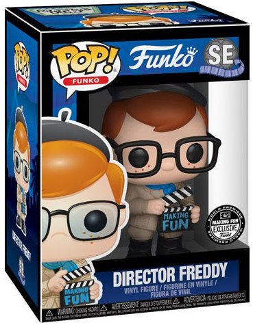 Funko Pop! Freddy Funko Director Freddy Stock