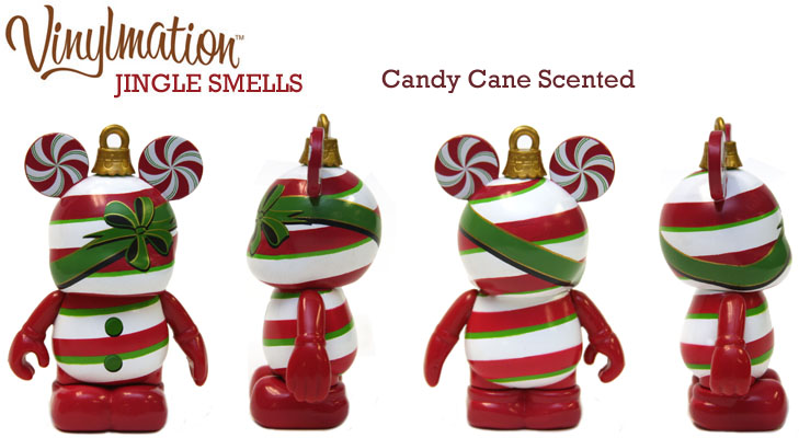 Vinylmation Open And Misc Jingle Smells Peppermint