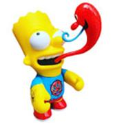 Kid Robot Simpsons x Kidrobot Kenny Scharf Bart