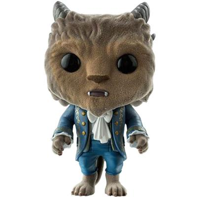 Funko Pop! Disney Beast (Movie) (Flocked)